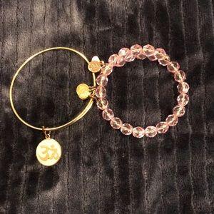 Alex and Ani two bracelets!!